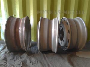 Порошковая покраска колесных дисков